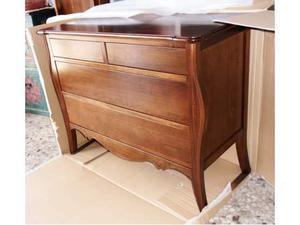 Como' in legno massello col.noce