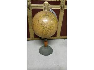Mappamondo scolastico globo terrestre anni 50 Paravia