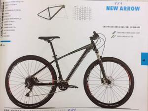 Mountain Bike Vektor New Arrow