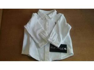 Camicia bambino ralph lauren bianca