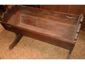 Culla antica in legno epoca '800
