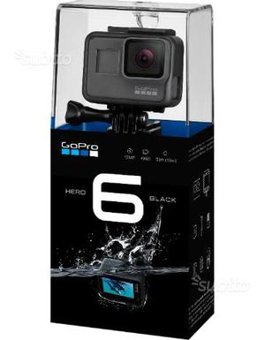 GoPro Hero 6 black nuova