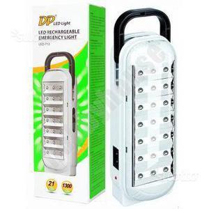 Lampada di emergenza a 21 LED Luce bianca