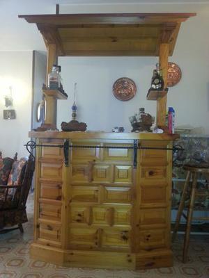 Mobile bar legno massiccio