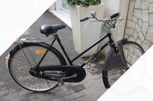 Bicicletta da donna, con freni a bacchetta