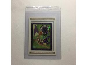 Card nba magic johnson con autografo