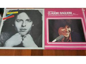Collezione di vinili di Claudio Baglioni (LP da 33 Giri)