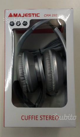 Cuffie Stereo pieghevoli Jack 3.5 Metallic Silver