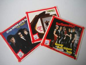 """Lotto di tre 45 giri serie """"the Sound of the 80's"""""""