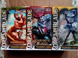 Lotto dreamblade 3 scatole booster pack nuovi