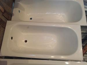 Vasca da bagno in ghisa bianco 140x65 porcellanata