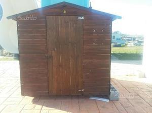 Casetta porta attrezzi in legno posot class - Porta attrezzi legno ...