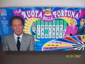 Gioco da tavolo anni 80 la ruota della fortuna
