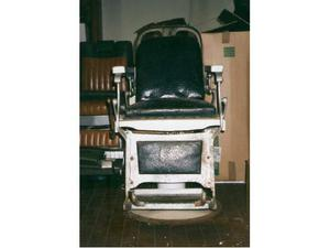 2 sedie da barbiere vintage anni 30 posot class