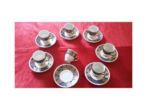 Set da 7 tazzine ceramica Bavaria