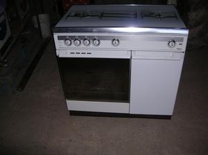 Stufa a gas REX 99 BS con forno dimensioni cm 90 x 55 x h 88