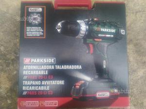 Batteria 20 gabbie sistema pulizia carta posot class for Trapano avvitatore parkside