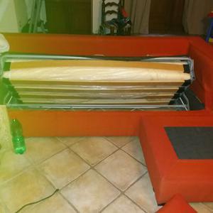 Divano letto poltrone e sofa39 con penisola posot class for Divano letto tre posti