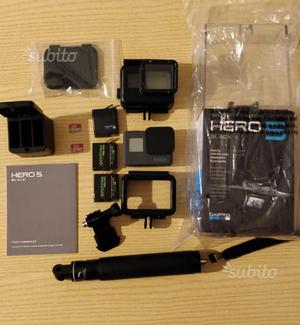 GoPro Hero 5 Black con 1 anno di garanzia