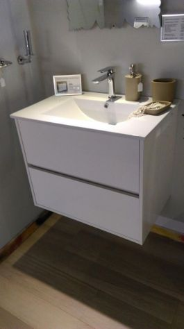 Mobile da bagno Noja Bianco Low Cost