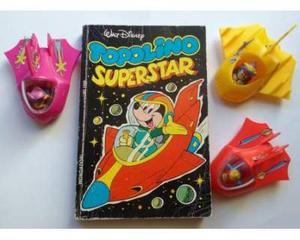3 Navicelle spaziali Disney + Topolino SuperStar settembre