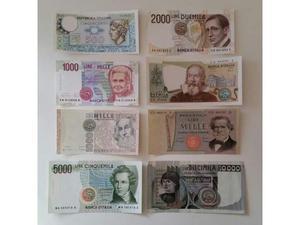 Banconote Vecchie Lire FDS Repubblica Italiana