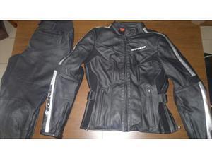 pelle in nero Posot protezioni con moto Pantalone Class spidi 65qEwZxEd