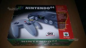 Console Nintendo 64 COMPLETO + 2 giochi