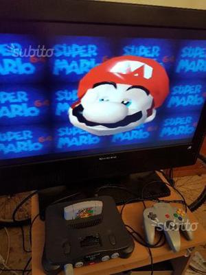 Console Nintendo 64 + Super Mario 64