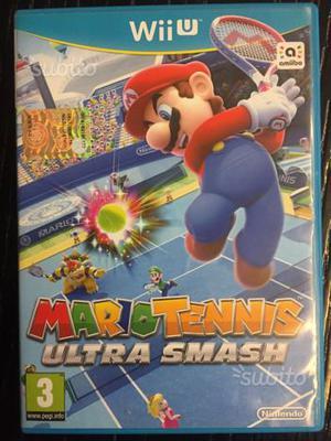 Nintendo WII U giochi Mario Tennis - Hyrule