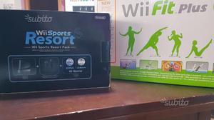 Nintendo Wii originale con Wii Sport e Wii Fitness