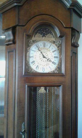 Prestioso orologio a pendolo a colonna anni 70 | Posot Class