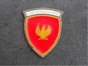 Scudetto vintage E.I. Brigata Corazzata Pozzuolo del Friuli