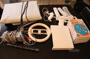 Wii con giochi e accessori