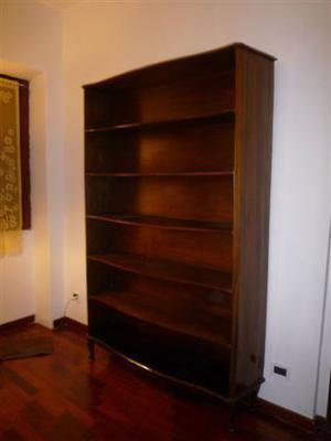 libreria scaffale in legno massello
