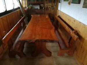 Tavolo per taverna con 2 panche e 2 pavia | Posot Class