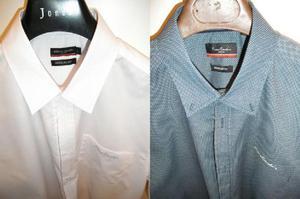 2 Camicie uomo Pierre Cardin, manica corta tg L, NUOVE MAI