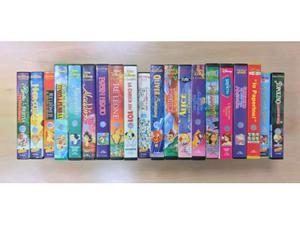 21 VHS da collezione originali WALT DISNEY