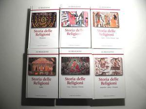 6 volumi storia delle religioni enciclopedia repubblica