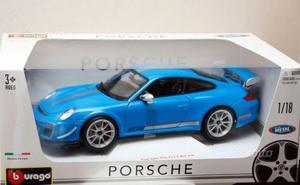 Bburago Bubl Porsche 911 Gt3 Rs 4.0 Blue 1:18