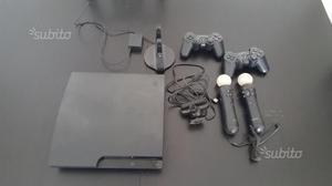Console ps3 slim con giochi