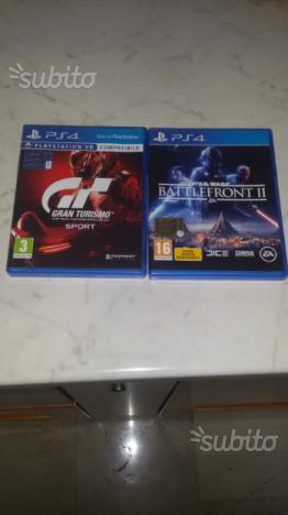 GRAN TURISMO SPORT e STAR WARS BATTLEFRONT II PS4