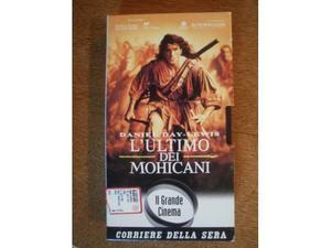 L'ULTIMO DEI MOHICANI (VHS) di M. Mann
