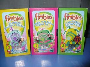 Videocassette VHS Flimbles per bambini da 0 a 5 ANNI