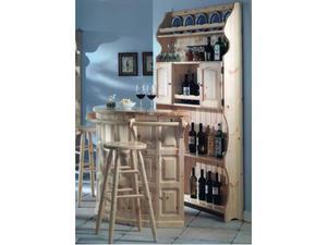 Angolo bar in legno massello posot class - Angolo bar per casa ...