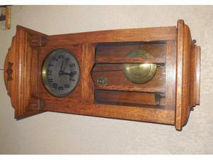 Antico orologio Pendolo Gustav Becker doppia suoneria Raro