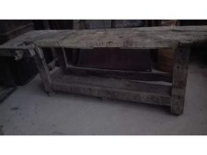 Antico tavolo da falegname (XIX secolo)
