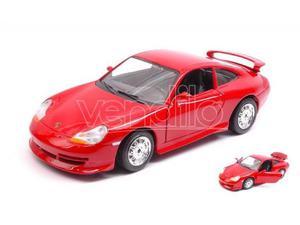 Bburago BUR PORSCHE 911 GT  RED 1:24 Modellino