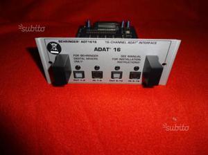 Behringer mixer scheda espansione ADAT 32 canali