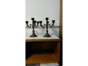 Candelieri ottone vintage